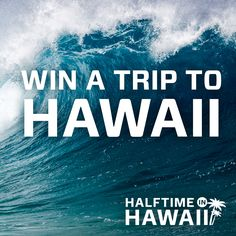 I entered the BYUtv Sports/BYUSN Halftime in Hawaii #giveaway for a chance to win a trip to the BYU vs. Hawaii game!