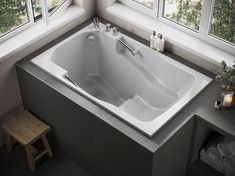 The Takara deep soaking tub is the newest in our market-leading range of ofuro-style baths. Two grab bars ensure easy access and an extra sense of security. Small Soaking Tub, Small Tub, Soaking Bathtubs, Deep Bathtub, Deep Tub, Bathtub Shower, Bath Tubs, Japanese Bathtub, Japanese Soaking Tubs