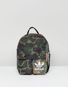 adidas Originals X Pharrell Williams Hu Camo Mini Backpack - Multi 019f9dc6c5ff1
