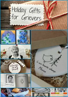 Holiday gift ideas for grievers!