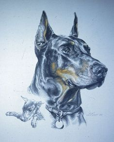 This is gorgeous! I'd so love to have a painting similar to this of my fur-baby!