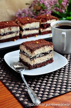 Cake Recipes, Dessert Recipes, Polish Recipes, Polish Food, Japanese Food, Tiramisu, Food To Make, Ale, Food And Drink
