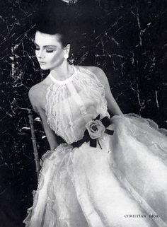 Dress by Christian Dior, 1963 | Sophia | Flickr
