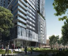GBL Architects' 8X Tower Approved to be Built in Vancouver,Courtesy of Beauty & The Bit