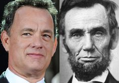 Washington Oddities and other interesting stuff. Actor Tom Hanks is a direct descendant from Abraham Lincoln through his mother's side, Nancy Hanks Lincoln.