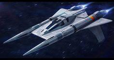 Buck Rogers - Thunderfighter remaster by AdamKop.deviantart.com on @DeviantArt