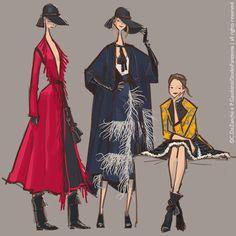 Lanvin f/w 2015/16 - a view on fashion shows