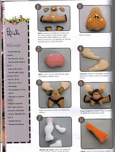 Album Archive - Muñequeria Country No. Stuffed Animal Patterns, Diy Stuffed Animals, Christmas Lights, Christmas Crafts, Christmas Stuff, Sewing Toys, Felt Ornaments, Gingerbread Cookies, Country