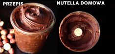 Zdrowy przepis na nutelle - porównanie - Motywator Dietetyczny Healthy Snacks, Healthy Recipes, Nutella, Good Food, Food And Drink, Low Carb, Cooking Recipes, Tasty, Sweets