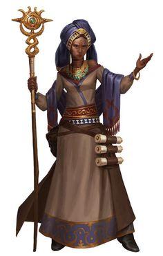 or Nuari or Yavdlom area/region [Tribe Priest Girl, Paizo - William Liu [ArtStation]] Fantasy Portraits, Character Portraits, Fantasy Artwork, High Fantasy, Fantasy Rpg, Medieval Fantasy, Dnd Characters, Fantasy Characters, Female Characters