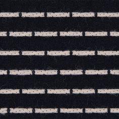 Beige Embroidered Polka Dots on a Black Cotton Poplin - Fashion Fabrics