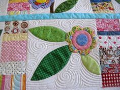 quilting idea--could I quilt like this someday?  Wow!!!!!!
