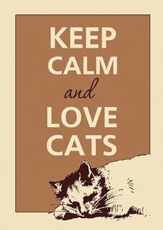 Keep calm.......