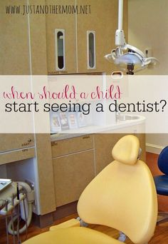 Is it ever too early for a child to start seeing a dentist? Today, I'm covering that as I attempt to answer the very question: when should a child start seeing a dentist?