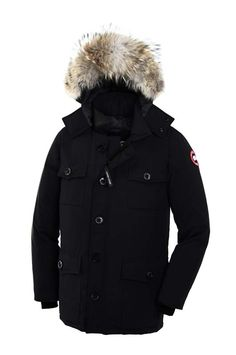 Canada Goose Youth Outlet CANADA GOOSE CONSTABLE PARKA MEN Navy 4071M