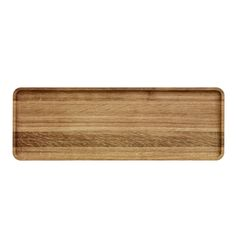 Iittala Vitriini Oak Tray is designed by Anu Penttinen. Long and slim, beautifully fashioned it will suit a variety of uses from carrying drinks to displaying candles and candleholders as a centrepiece to a table display or use it in your office to hol Scandinavian Kitchen, Scandinavian Furniture, Golden Design, Candles And Candleholders, Glass Boxes, Wood Tray, Decorative Objects, Accessories Shop, Kitchen Accessories
