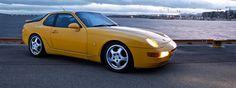 Porsche 968 clubsport Porsche 968, Rear Wheel Drive, Fast Cars, Yellow, Board, Faith, Cars, Planks
