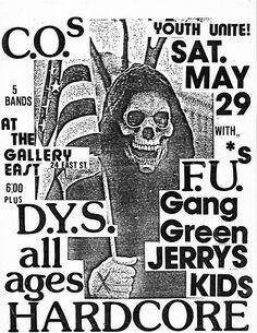 694 best punk hardcore images in 2019 punk punk rock joey ramone 80s Drinks fu s dys gang green jerry s kids original gallery east punk hardcore flyer