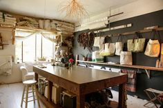 A designer shows us her rustic, seaside-inspired home. Photos by Abby Wilcox.