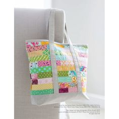 Scrap Tote Bag Sewin