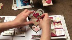 Handmade Scrapbook / album/ birthday album / love coupons for boyfriend'...