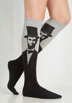 Land of Linked In Socks in Grey