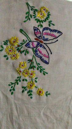 Embroidery stitching
