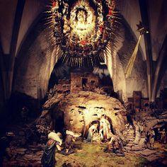 #marrychristmas #linz #lnz #austria #christmas #weihnachten #krippe #linzpictures #neuerdom #dom #kirche