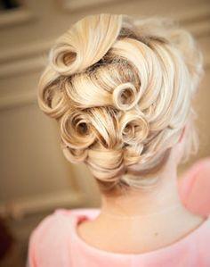 WeddingChannel Galleries: Curly Updo