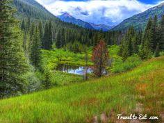 East Slope of Berthoud Pass. Colorado
