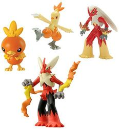 Pokemon XY Torchic, Combusken, Blaziken & Mega Blaziken Mini Figure 4-Pack by Pokémon, http://www.amazon.com/dp/B015RK4WJC/ref=cm_sw_r_pi_dp_x_T1jNybG8CDS7A
