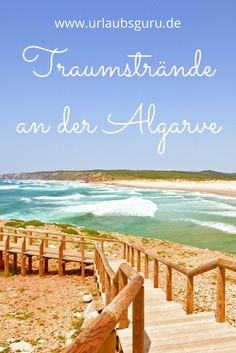 Wenn euch eine frische Brise atlantische Luft um die Nase weht, ihr den feinen Sand zwischen euren Zehen spürt, das Rauschen der Wellen das Einzige ist, was eure Ohren erhorchen und euch einfach tiefe Ruhe und Entspannung durchströmt – dann liegt ihr sicherlich an einem der schönsten Strände an der Algarve in Portugal.