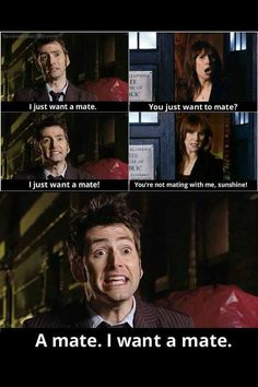 Donna noble. Favorite line of the episode! :)