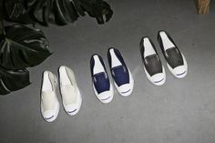 Converse Jack Purcell Introduces Slip-Ons 2015 •Selectism