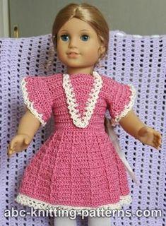 American Girl Doll Crochet Summer Dress