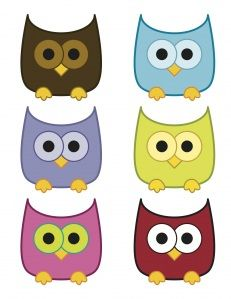 Owls_Printables-too cute not to pin for something