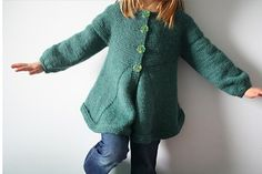 Ravelry: Flary Cardigan pattern by karen Borrel