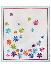 love this quilt. It reminds me that spring will be here sometime and all of this snow will be gone   Bert