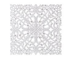 Panel decorativo en madera DM Alyssa - 90x90 cm | Westwing Home & Living