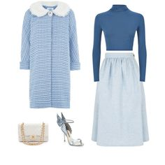 """Blue Babe"" by tara-starlet on Polyvore"