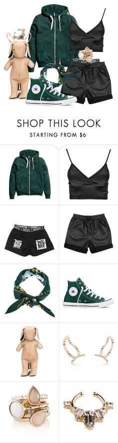 """Untitled #130"" by daneetatumhewitt ❤ liked on Polyvore featuring Boohoo, Stussy, Hermès, Converse, dominic louis, Erickson Beamon, The Limited, Akira, women's clothing and women's fashion"