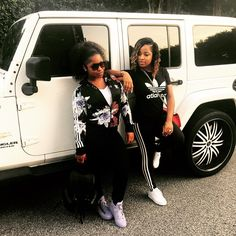 Toya Wright Reginae Carter Celebrity Happy Family Mother Daughter Goals Black Love