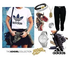 Show Off Your adGIRL Style: Contest Entry by blingjewelry on Polyvore featuring adidas and Bling Jewelry