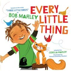Now in board book, Every Little Thing brings Bob Marley's beloved song to life for a new generation. Every family will relate to this universal story of a boy who won't let anything get him down, as long as he has the help of three special little birds. Including all the lyrics of the original song plus new verses, this cheerful book will bring a smile to faces of all ages—because every little thing's gonna be all right.