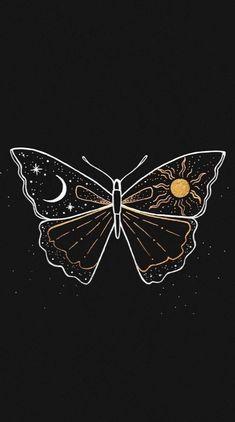 Iphone Background Wallpaper, Butterfly Wallpaper, Dark Wallpaper, Galaxy Wallpaper, Black Aesthetic Wallpaper, Aesthetic Backgrounds, Aesthetic Iphone Wallpaper, Aesthetic Wallpapers, Images Esthétiques