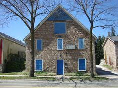 Ancaster Masonic Lodge, built in 1872.