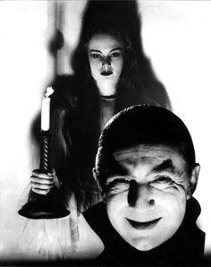 Carroll Borland and Bela Lugosi, Mark of the Vampire.