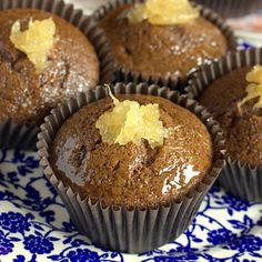 These naked cupcakes are mini versions of your favorite sticky sweetly spiced Jamaican ginger cake.