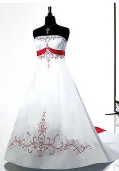 Exceptional Satin Princess Sleeveless Strapless Plus Size Wedding Dresses - Lunadress.co.uk