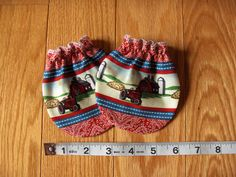 Anti / No Scratch Mitts Mittens for Baby International Harvester Fabric Case Tractor Farmall on Etsy, $5.00